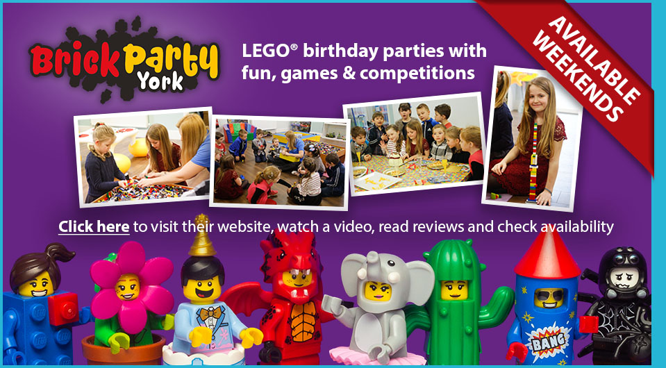 LEGO birthday parties in York