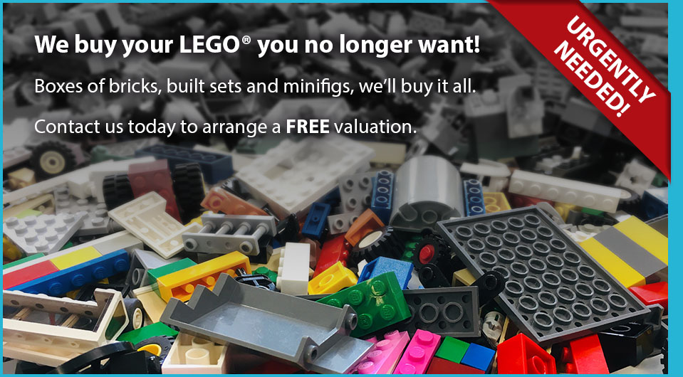 We buy LEGO